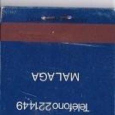 Cajas de Cerillas: CAJA DE CERILLAS, PUBLICIDAD CAFETERIA CRISTINA (CC13). Lote 128379883
