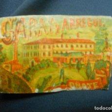 Cajas de Cerillas: SIGLO XIX CAJA DE CERILLAS - FABRICA DE GARAY Y ARREGUI. OÑATE TABACO. Lote 128474659