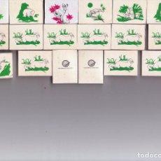 Cajas de Cerillas: CAJAS DE CERILLAS FAUNA, FOSFORERA ESPAÑOLA LOTE ( 18 ). Lote 129027107