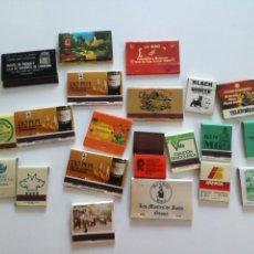 Cajas de Cerillas: LOTE 23 CAJAS DE CERILLAS AÑOS 70/80. Lote 129299759
