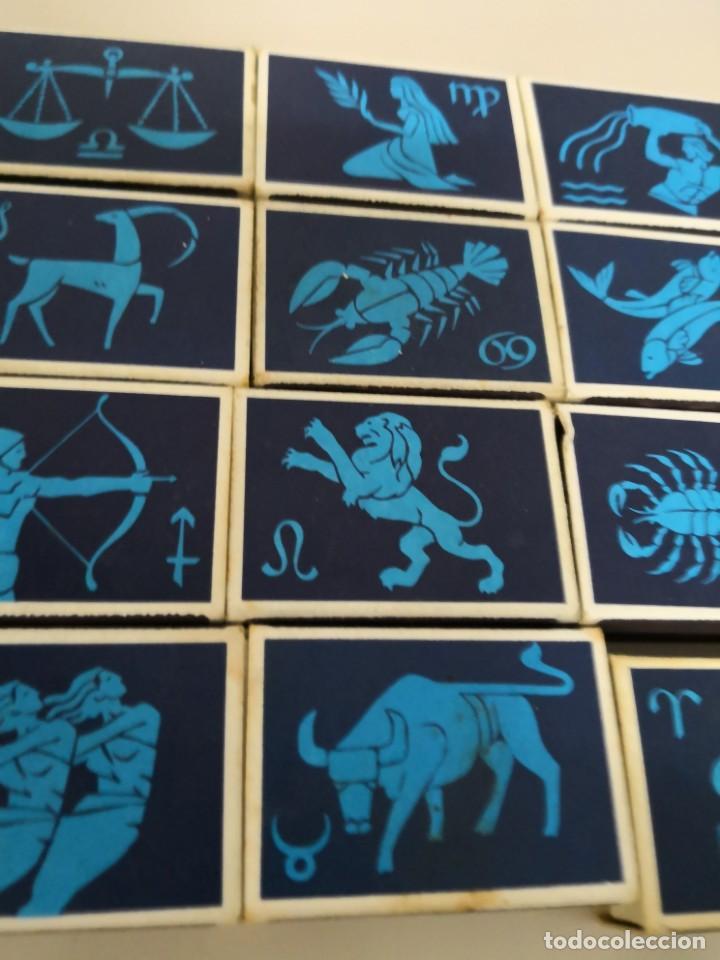 Cajas de Cerillas: Bonita Colección completa de 12 cajas de cerillas de horoscopos de Finlandia Finn Match - Foto 3 - 130067023