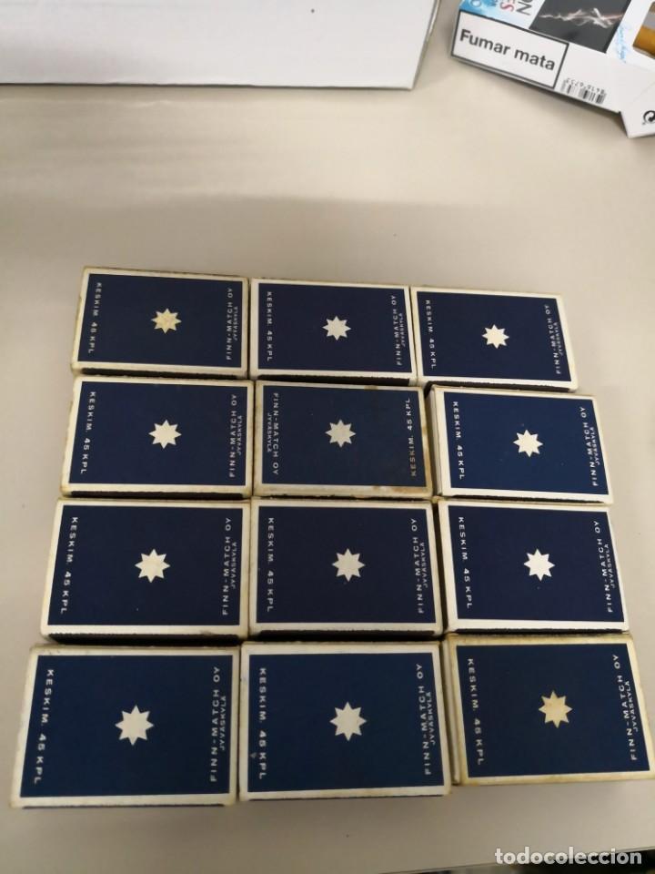 Cajas de Cerillas: Bonita Colección completa de 12 cajas de cerillas de horoscopos de Finlandia Finn Match - Foto 5 - 130067023