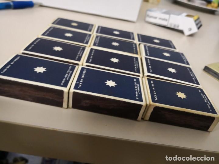 Cajas de Cerillas: Bonita Colección completa de 12 cajas de cerillas de horoscopos de Finlandia Finn Match - Foto 6 - 130067023