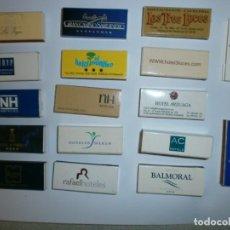 Cajas de Cerillas: LOTE DE 17 CAJAS DE CERILLAS DE HOTEL NUEVAS DISTINTAS. Lote 130932556
