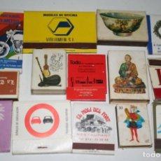Cajas de Cerillas: LOTE CAJA DE CERILLAS. Lote 131524730