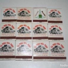 Cajas de Cerillas: LOTE CAJA DE CERILLAS. Lote 131525106