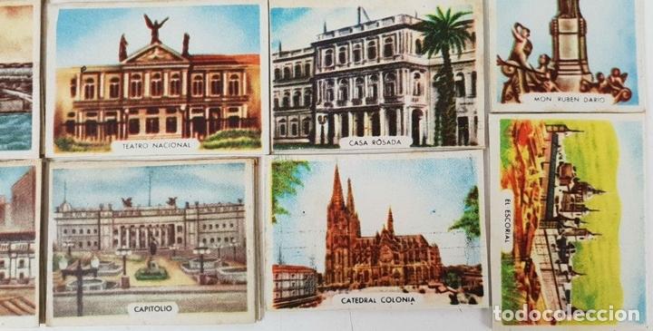 Cajas de Cerillas: COLECCIÓN DE 27 CROMOS. CAJAS DE CERILLAS. SERIE MONUMENTOS. SIGLO XX. - Foto 2 - 131770162