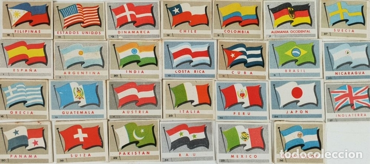 Cajas de Cerillas: COLECCIÓN DE 27 CROMOS. CAJAS DE CERILLAS. SERIE MONUMENTOS. SIGLO XX. - Foto 3 - 131770162