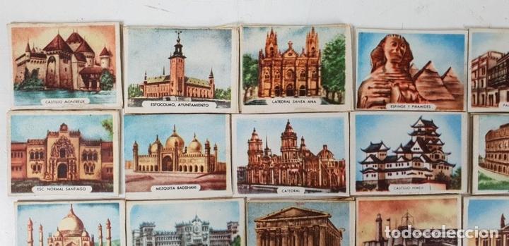 Cajas de Cerillas: COLECCIÓN DE 27 CROMOS. CAJAS DE CERILLAS. SERIE MONUMENTOS. SIGLO XX. - Foto 6 - 131770162