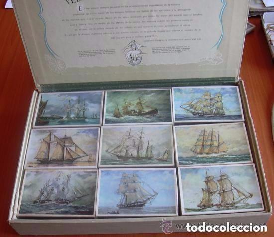 VELEROS EN LA HISTORIA ARGENTINA, 18 CAJAS DE CERILLAS - COMPLETA - VER FOTOS ADICIONALES (Coleccionismo - Objetos para Fumar - Cajas de Cerillas)