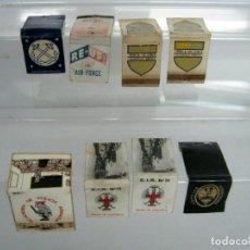 Cajas de Cerillas: LOTE CAJAS DE CERILLAS POLICIA CIR14 BRIGADA PARACAIDISTA Y USA NAVY AIR FORCE. Lote 132771654