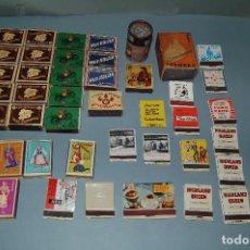 Cajas de Cerillas: LOTE CAJAS DE CERILLAS ANTIGUAS. Lote 133315278