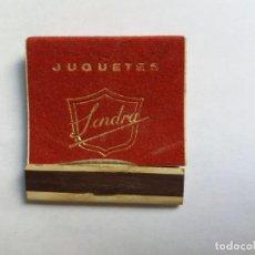 Cajas de Cerillas: CAJA DE CERILLAS - JUGUETES - DENIA. Lote 133318002