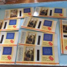 Cajas de Cerillas: 9 TAPAS GRANDES IDEAS PRÁCTICAS TRADICIONALES. Lote 134018130