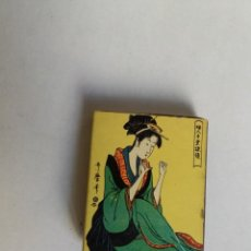Scatole di Cerini: CAJA DE CERILLAS - JAPON - MUJER JAPONESA. Lote 134018358