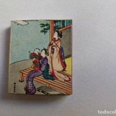 Scatole di Cerini: CAJA DE CERILLAS - THE HANGA SERIES MAT CH - JAPON - MUJERES JAPONESAS. Lote 134018718