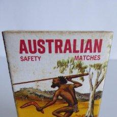 Cajas de Cerillas: CAJA DE CERILLAS AUSTRALIAN. Lote 134238922