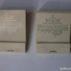 Cajas de Cerillas: 2 CAJAS DE CERILLAS PARADORES NUEVAS. Lote 134420198