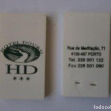 Cajas de Cerillas: 2 CAJAS DE CERILLAS HOTEL DOURO OPORTO. Lote 134426982