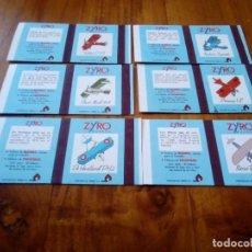 Cajas de Cerillas: SERIE COMPLETA CAJAS CERILLAS AVIONES ZYRO FOSF. PIRINEO. Lote 134457054