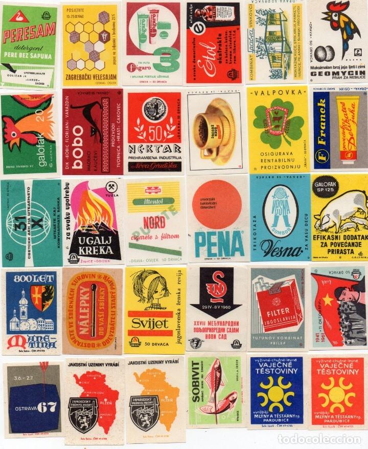 Cajas de Cerillas: tapas de cajas de cerillas, hay 100 diferentes, en la foto hay dos repetidas pero ya están corregida - Foto 2 - 134986486