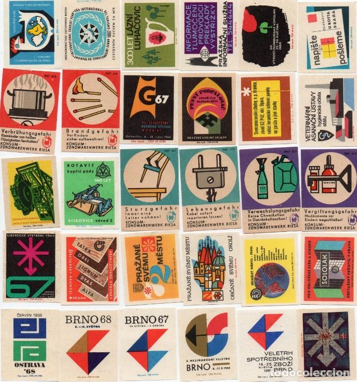 Cajas de Cerillas: tapas de cajas de cerillas, hay 100 diferentes, en la foto hay dos repetidas pero ya están corregida - Foto 3 - 134986486