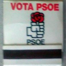 Cajas de Cerillas: CAJA CERILLAS CARTERITA PSOE. Lote 135346550