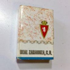 Cajas de Cerillas: CAJA LIBRO DE CERILLAS DEL REAL ZARAGOZA 1970. Lote 135626055