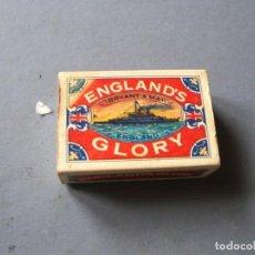 Cajas de Cerillas: CAJA DE CERILLAS ENGLAND¨S GLORY Nº29T 6X4CM APROX. Lote 136278358