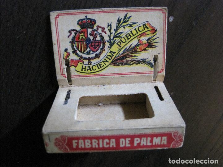 Cajas de Cerillas: CAJA DE CERILLAS- FABRICA DE PALMA -CLASE EXTRA- 10 CENTIMOS -VER FOTOS -(V-15.049) - Foto 7 - 136512306