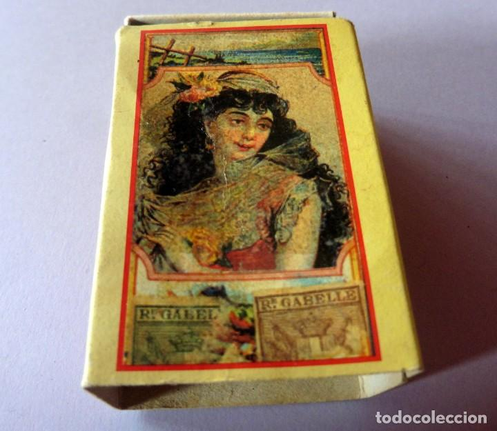 CAJA DE CERILLAS 240 FOSFOROS - AÑOS 60/70 - REPRODUCCIÓN ETIQUETA SIGLO XIX (VER FOTOS) (Coleccionismo - Objetos para Fumar - Cajas de Cerillas)