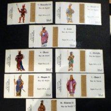 Cajas de Cerillas: CAJAS CERILLAS SERIE REYES HISTÓRICOS, DIBUJOS ABELENDA FALTA Nº 14. Lote 137247294