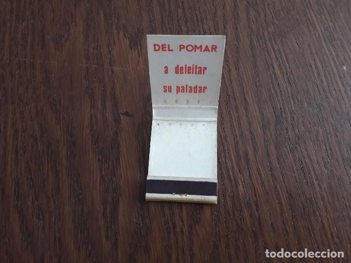 Cajas de Cerillas: caja de cerillas de publicidad sidra Mayador, Villaviciosa. - Foto 3 - 137353902