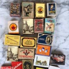 Cajas de Cerillas: LOTE DE 22 CAJAS DE CERILLAS. Lote 138533796