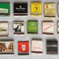 Cajas de Cerillas: LOTE DE 16 CAJAS DE CERILLAS (LOTE 18). Lote 138616074