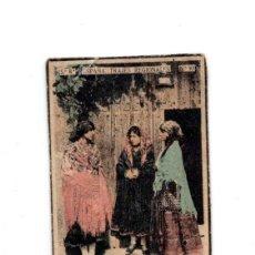 Cajas de Cerillas: CROMO DE CAJA DE CERILLAS, AÑOS 30, TRAJES REGIONALES SERIE 8 ,Nº 10, PIEDRAHITA ,AVILA . Lote 138709454