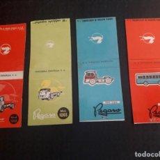 Cajas de Cerillas: LOTE CARTERITAS CERILLAS - PEGASO. Lote 139155314