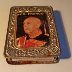 Cajas de Cerillas: CAJA DE CERILLAS CON IMAGEN DE FRANCO. Lote 139390730