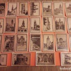 Cajas de Cerillas: ETIQUETAS CERILLAS - MONUMENTOS ESPAÑA (1 A 25). COMPAÑIA ARRENDATARIA FÓSFOROS S.A.. Lote 139458466