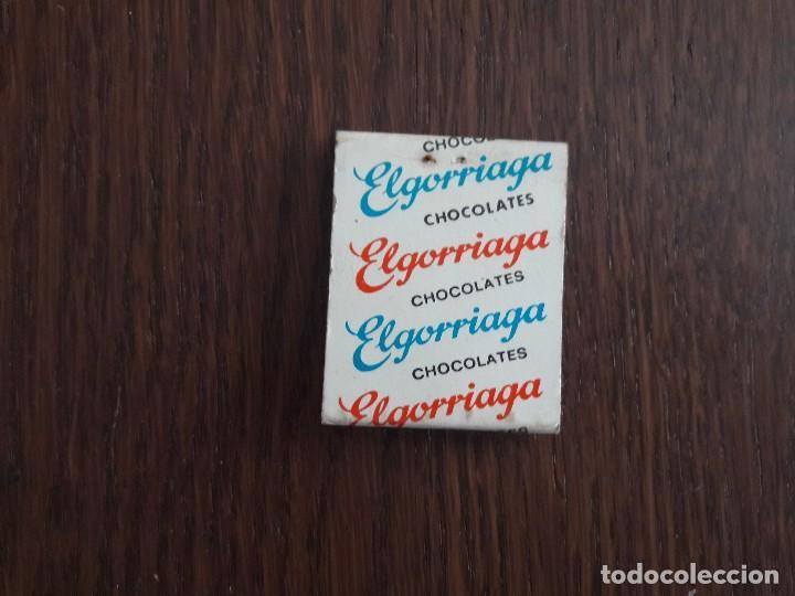 Cajas de Cerillas: caja de cerillas de publicidad Chocolates Elgorriaga - Foto 2 - 139753674