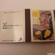 Cajas de Cerillas: CARTERITA CERILLAS - F. IBAÑEZ. Lote 140038506