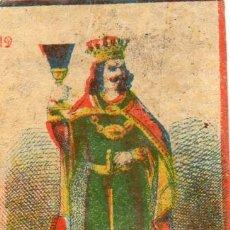 Cajas de Cerillas: CAJAS DE CERILLAS BARAJA SIGLO XIX. Lote 140143194