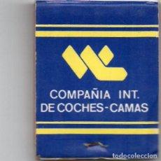 Cajas de Cerillas: CAJA DE CERILLAS DE COCHES-CAMA. Lote 140164522