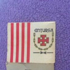 Cajas de Cerillas: CARTERA DE CERILLAS ENTURSA - FÓSFOROS. Lote 140469406