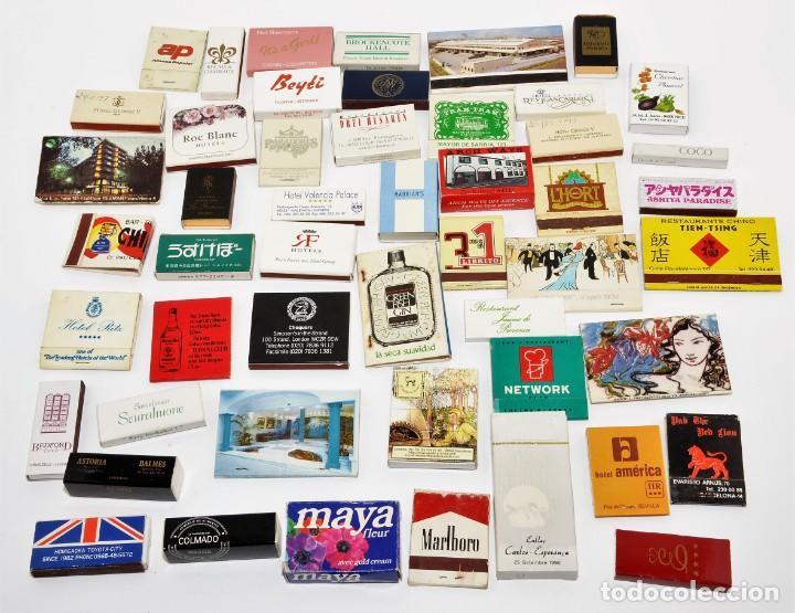 LOTE 50 CAJAS DE CERILLAS - TODAS DIFERENTES (Coleccionismo - Objetos para Fumar - Cajas de Cerillas)