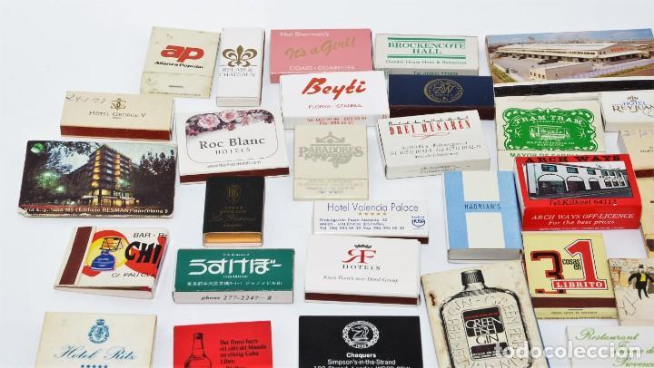 Cajas de Cerillas: LOTE 50 CAJAS DE CERILLAS - TODAS DIFERENTES - Foto 2 - 140481762