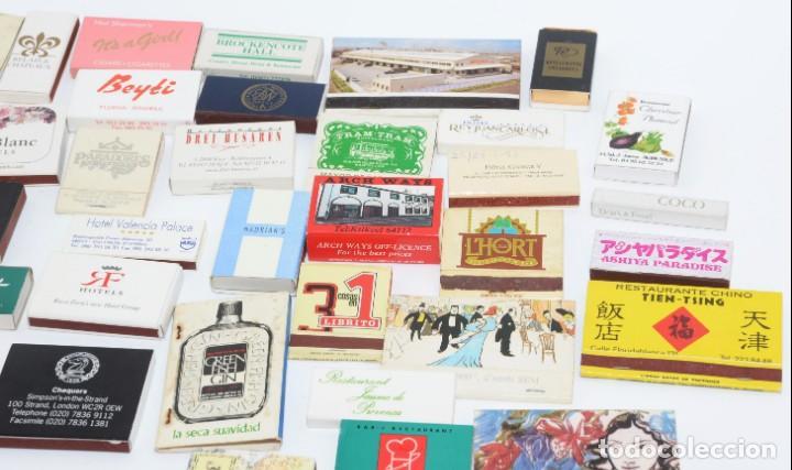 Cajas de Cerillas: LOTE 50 CAJAS DE CERILLAS - TODAS DIFERENTES - Foto 3 - 140481762