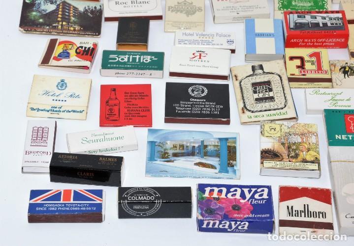 Cajas de Cerillas: LOTE 50 CAJAS DE CERILLAS - TODAS DIFERENTES - Foto 4 - 140481762