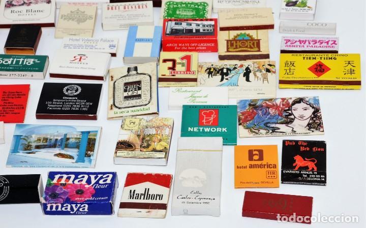 Cajas de Cerillas: LOTE 50 CAJAS DE CERILLAS - TODAS DIFERENTES - Foto 5 - 140481762