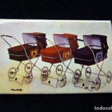 Cajas de Cerillas: CARTERA CERILLAS JANE, EL COCHE DE SU BEBÉ. AÑOS 1974. Lote 143283722